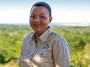 The Elephant Camp - Assitant Manager, Hilda Ncube