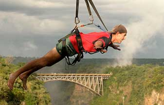 Adrenalin Tours and Activities in Victoria Falls.