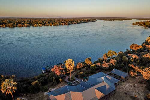Old Drft Lodge on the Zambezi River, Victoria Falls
